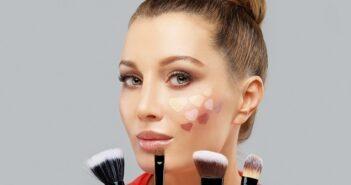 Contouring: Rundes Gesicht kantiger wirken lassen