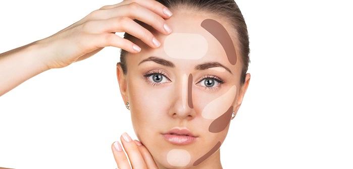 Contouring: Eckiges Gesicht weicher wirken lassen