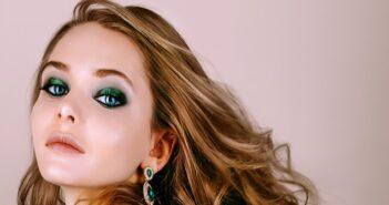 Grüne Augen schminken: Nuancenreiches Augen-Make-Up