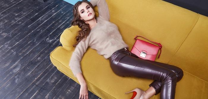 Wolle und Leder: Modetrends für 2017-2018